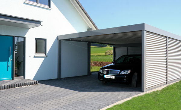 carport am haus best garage bauen u parkplatz direkt am haus with carport am haus add shelter. Black Bedroom Furniture Sets. Home Design Ideas